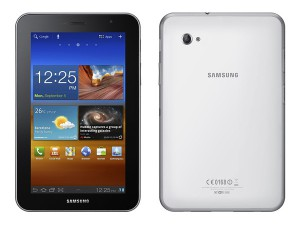 Samsung Galaxy Tab 7.0 Plus front back