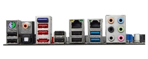 Sapphire Pure Black 990FX ports