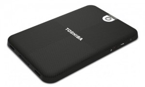 Toshiba Thrive 7 back