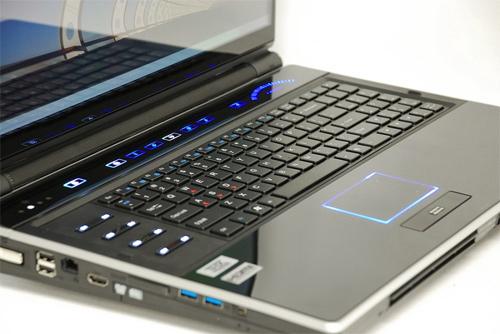 Eurocom Leopard 2.0 keyboard