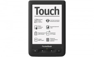 PocketBook Touch black front