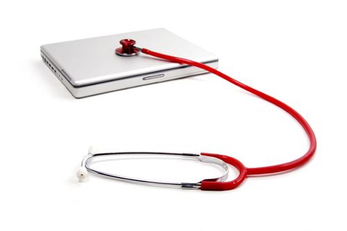 ноутбук на больничном