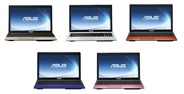 ASUS N56VM-S3610B colors