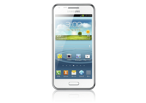 Samsung Galaxy R Style front