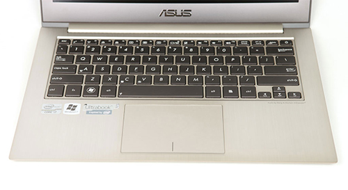 ASUS Zenbook Prime UX31A keyboard