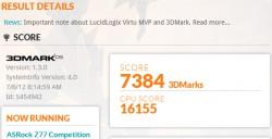 ASUS Zenbook UX31A 3D Mark05 Score