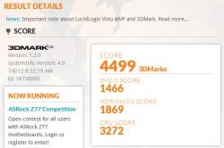 ASUS Zenbook UX31A 3D Mark06 Score