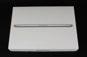 Apple MacBook Pro 2012 box