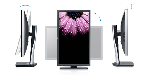 Dell U2713HM angles