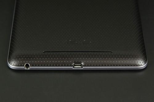 Нижний торец Google Nexus 7