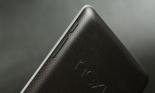 Правый торец Google Nexus 7