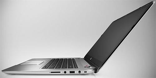 Правый торец ультрабука HP Spectre XT TouchSmart