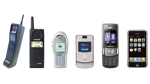 Форм-факторы мобильных телефонов