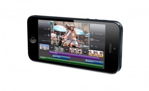 iPhone 5 - работа с видео