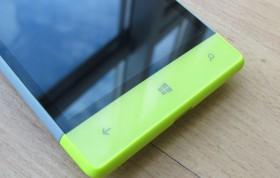 Кнопки управления смартфона HTC 8S
