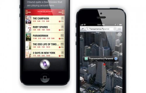 iOS 6 на смартфоне iPhone 5