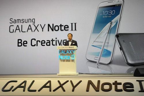 Презентация смартфона Samsung Galaxy Note II