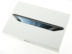 Apple iPad mini box