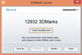 Sony VAIO Duo 11 3DMark 03