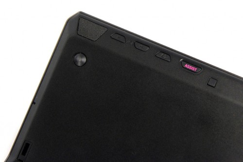 Sony VAIO Duo 11 bottom buttons