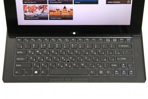 Sony VAIO Duo 11 keyboard
