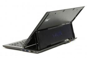 Sony VAIO Duo 11 opened angle