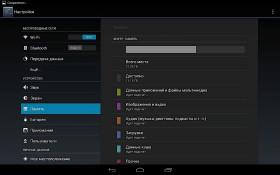Google Nexus 10 memory