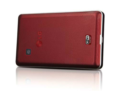 LG T375 red back