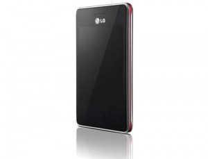 LG T375 red front