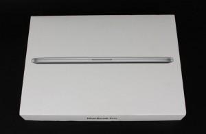 Apple MacBook Pro 2012 box