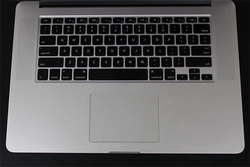 Apple MacBook Pro 2012 keyboard