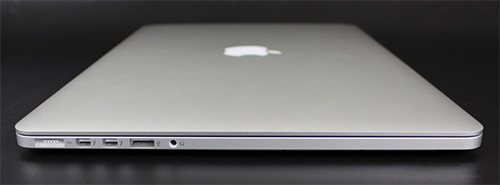 Apple MacBook Pro 2012 left ports