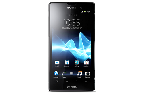 Sony Xperia Ion black front