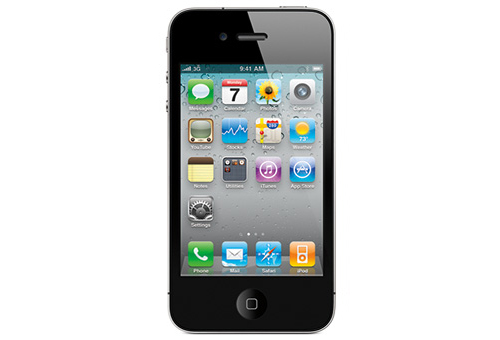 iPhone 4 black front