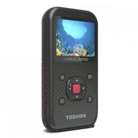 Кнопки управления и дисплей портативного камкордера Toshiba Camileo BW20