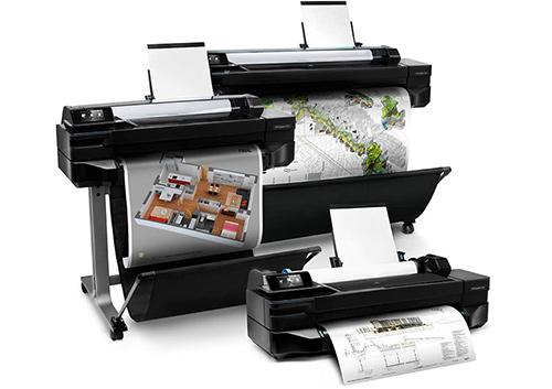Принтеры HP Designjet T120 и T520