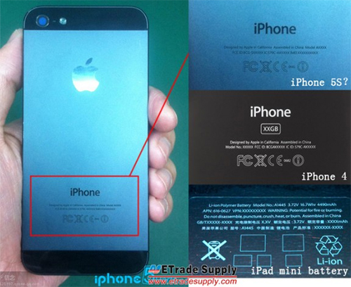 iPhone 5S back